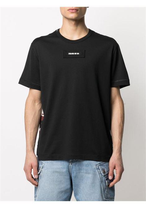 T-shirt nera DOLCE & GABBANA | T-SHIRT | G8MW1ZG7YIVS9000