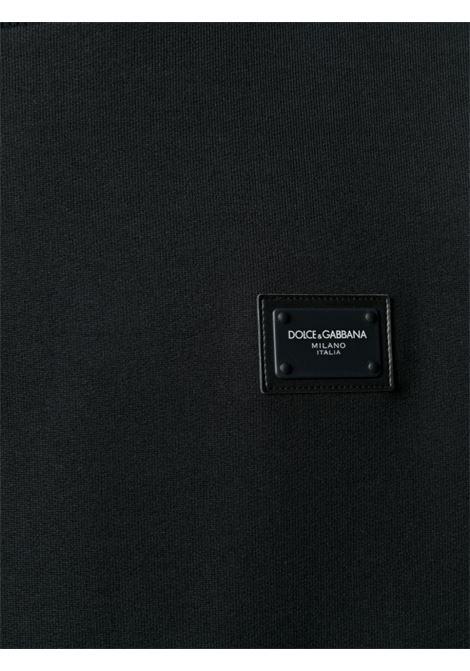 Maglione nero DOLCE & GABBANA | MAGLIONE | G9PD3TFU7DUN0000