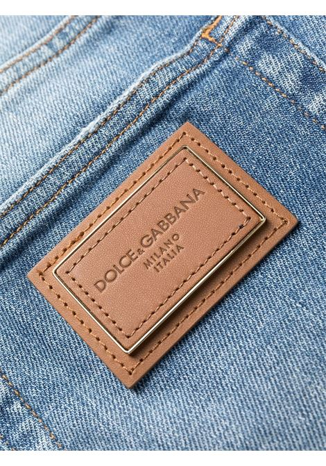 Jeans blu DOLCE & GABBANA | PANTALONI | GY07CDG8DO0S9001