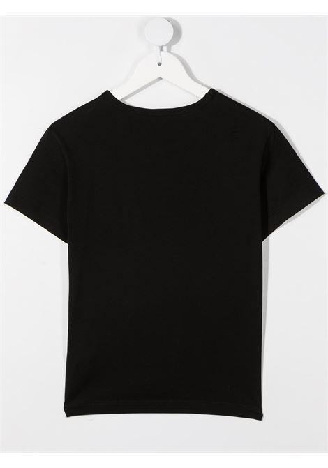 T-shirt nera DOLCE & GABBANA KIDS | T-SHIRT | L4JT6SG7YFFN0000