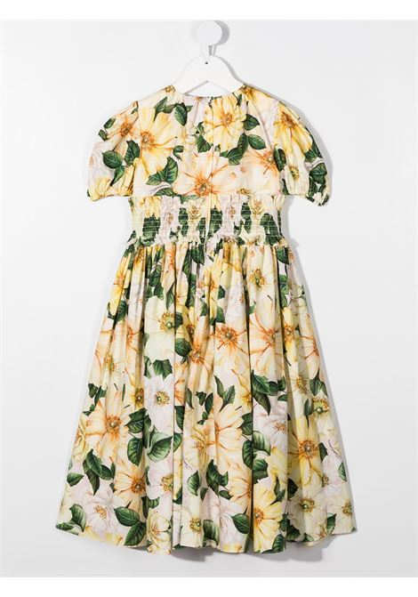 Floral-print dress DOLCE & GABBANA KIDS | DRESS | L52DN7HS5H7HF2AH