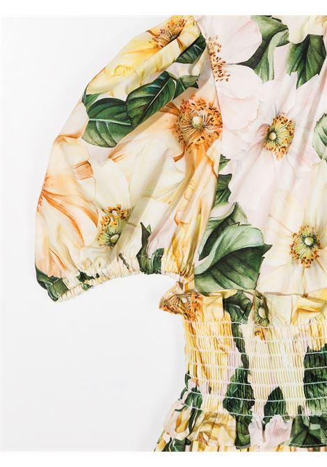 Floral-print dress DOLCE & GABBANA KIDS | DRESS | L52DN7HS5H7HF2AH