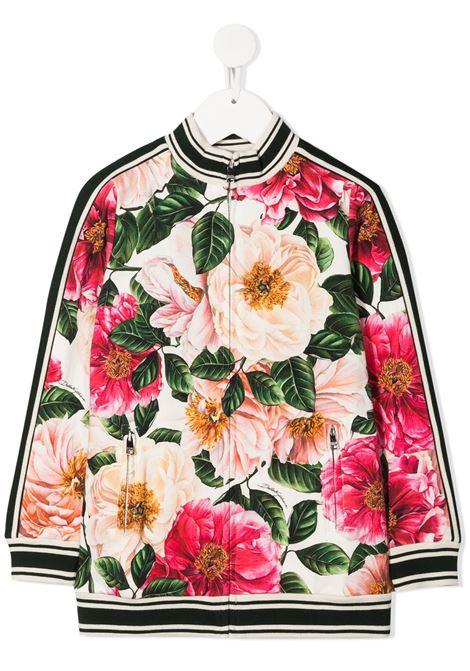 Floral print sweatshirt DOLCE & GABBANA KIDS | SWEATSHIRTS | L5JW3HFSGUDHA2AI