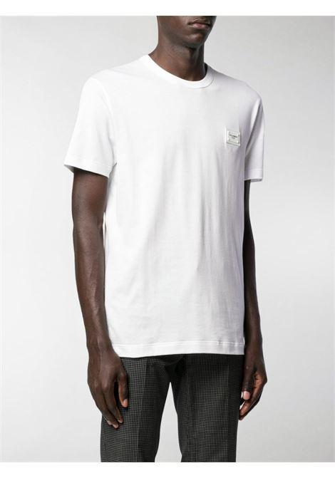 T-shirt bianca DOLCE & GABBANA | T-SHIRT | G8KJ9TFU7EQW0800