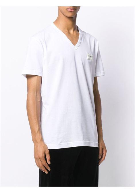 T-shirt bianca DOLCE & GABBANA | T-SHIRT | G8KK0TFU7EQW0800