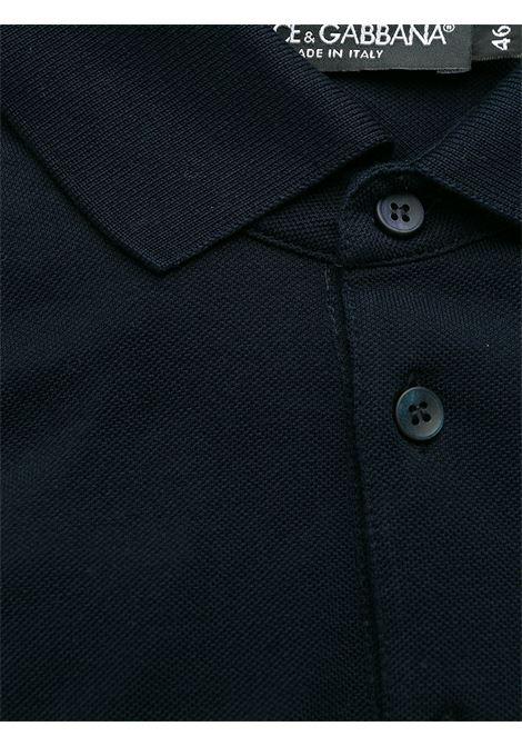 Polo blu DOLCE & GABBANA | POLO | G8KK1TFU7ENB0665