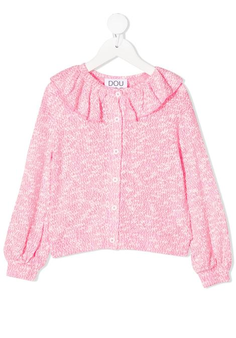Maglia rosa/bianco DOUUOD | MAGLIE | FE0122110495