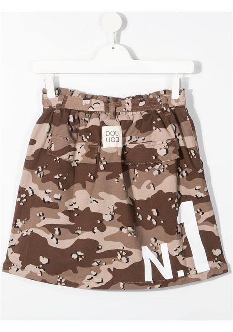 Brown skirt DOUUOD | SKIRTS | GO01T11120125