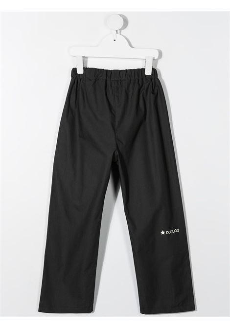 Pantalone nero DOUUOD | PANTALONI | PA5103000994