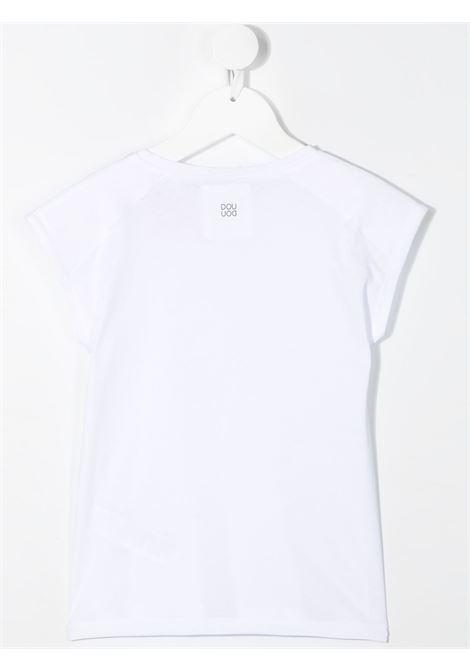 T-shirt bianca DOUUOD | T-SHIRT | TE2412280101