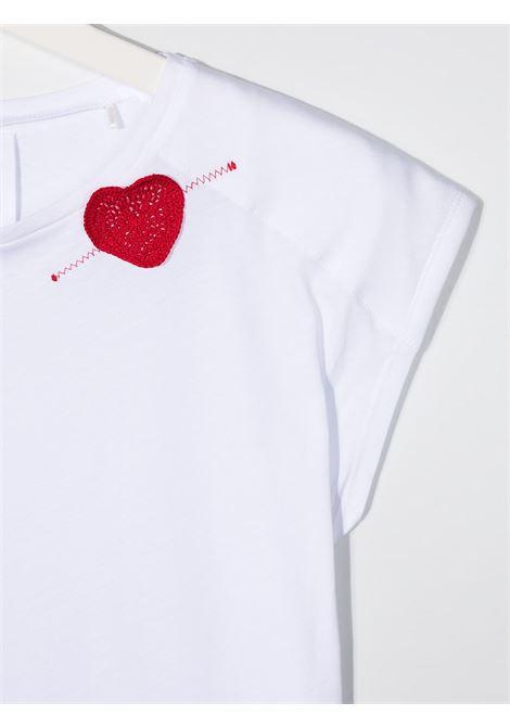 T-shirt bianca DOUUOD | T-SHIRT | TE24T12280101