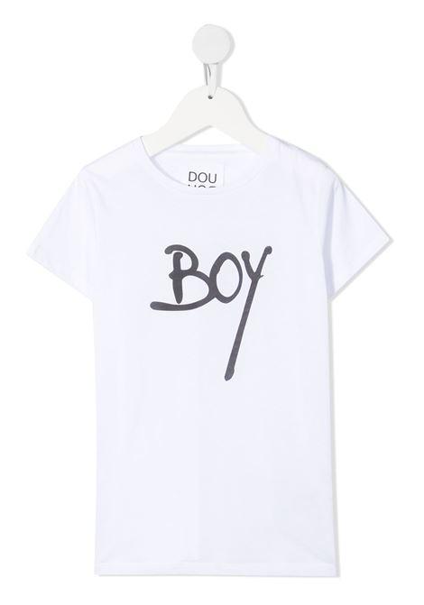 T-shirt bianca DOUUOD | T-SHIRT | TE5812280101