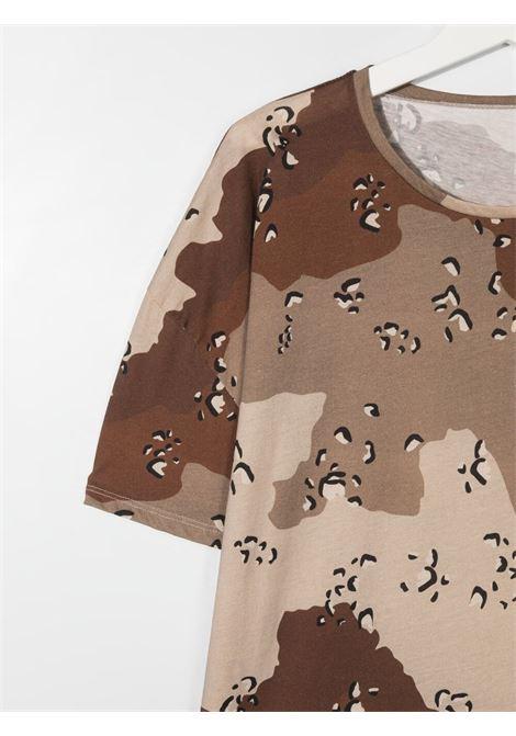 Brown t-shirt DOUUOD | T-SHIRT | TE60T12110125