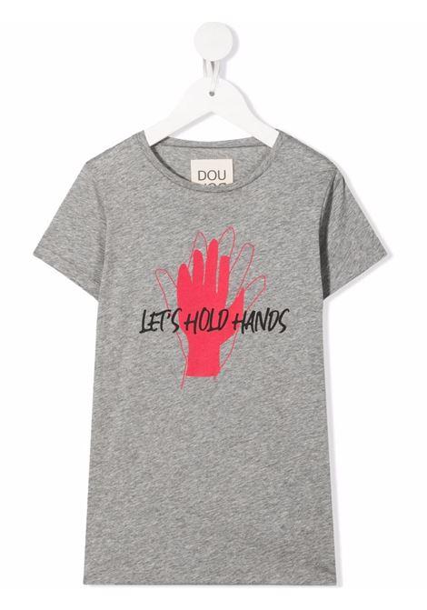 Grey t-shirt DOUUOD | T-SHIRT | TE631232M805