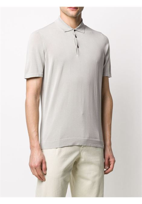 Grey Polo shirt DRUMOHR | POLO | D0GF202604