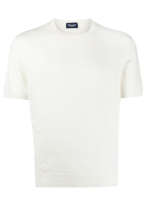 White t-shirt DRUMOHR | T-SHIRT | D1LN100T100