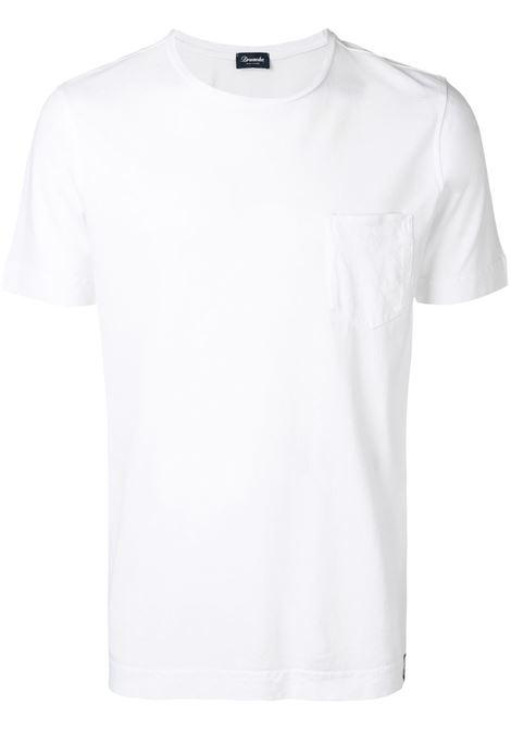 T-shirt bianca DRUMOHR   T-SHIRT   DTJ000100