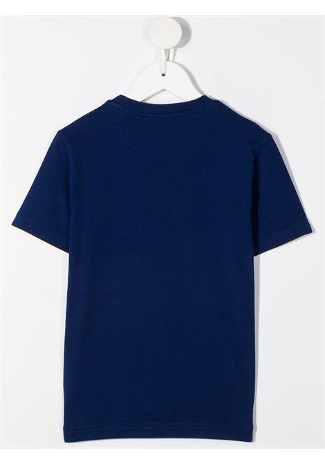 T-shirt blu DSQUARED ICON KIDS | T-SHIRT | DQ0243D002FD2T662UDQ865