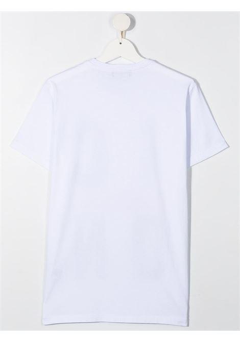 T-shirt bianca DSQUARED ICON KIDS | T-SHIRT | DQ0243D002FTD2T662UDQ100