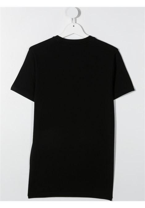 T-shirt nera DSQUARED ICON KIDS | T-SHIRT | DQ0243D002FTD2T662UDQ900