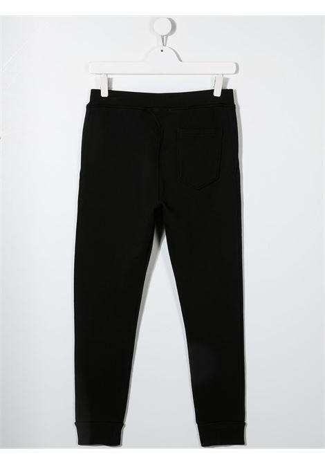 Pantalone nero DSQUARED ICON KIDS | PANTALONI | DQ0248D002YTD2P354UDQ900