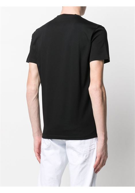 T-shirt nera DSQUARED ICON | T-SHIRT | S79GC0013S23009900