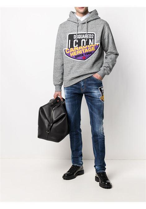 Grey sweatshirt DSQUARED ICON |  | S79GU0021S25477860M