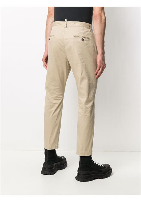 Beige trousers DSQUARED ICON | TROUSERS | S79KA0008S39021111