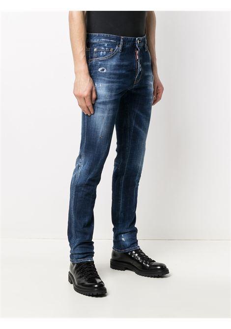 Jeans blu DSQUARED ICON | PANTALONI | S79LA0016S30342470