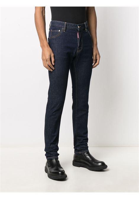 Pantalone blu DSQUARED ICON | PANTALONI | S79LA0019S30595470