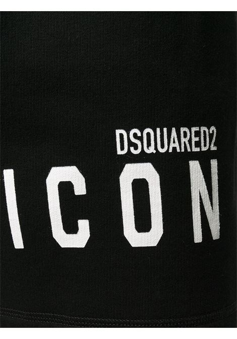 Shorts nero DSQUARED ICON | SHORTS | S79MU0005S25042968