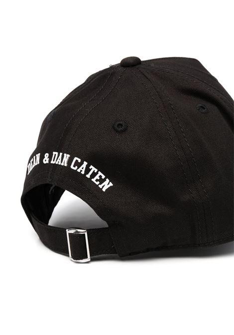 Cappello nero DSQUARED KIDS | CAPPELLI | DQ0134D00YTD2F133UDQ900