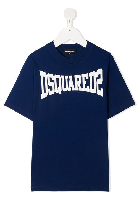 T-shirt blu DSQUARED KIDS | T-SHIRT | DQ0156D002FD2T633MDQ865