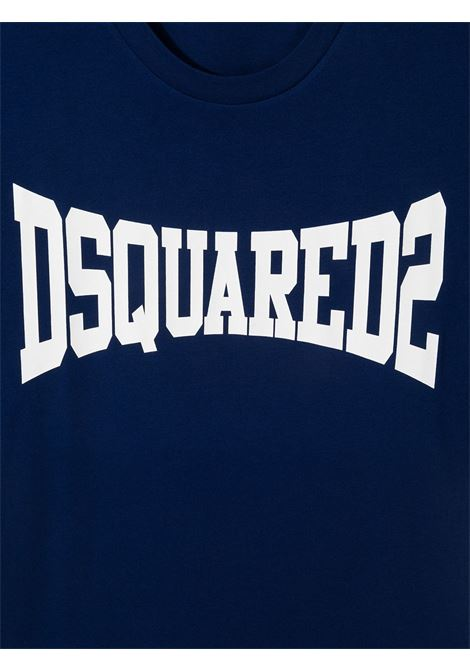 T-shirt blu DSQUARED KIDS | T-SHIRT | DQ0156D002FTD2T633MDQ865