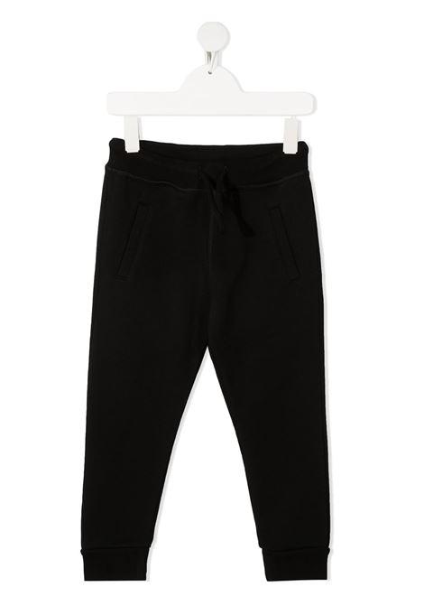Pantalone nero DSQUARED KIDS | PANTALONI | DQ0212D002YD2P338MDQ900