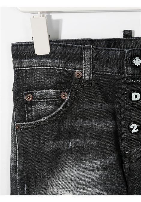 Jeans nero DSQUARED KIDS | JEANS | DQ0234D004ZD2P31BLVMDQ02