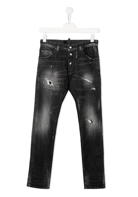 Jeans nero DSQUARED KIDS | JEANS | DQ0234D004ZTD2P31BLVMDQ02
