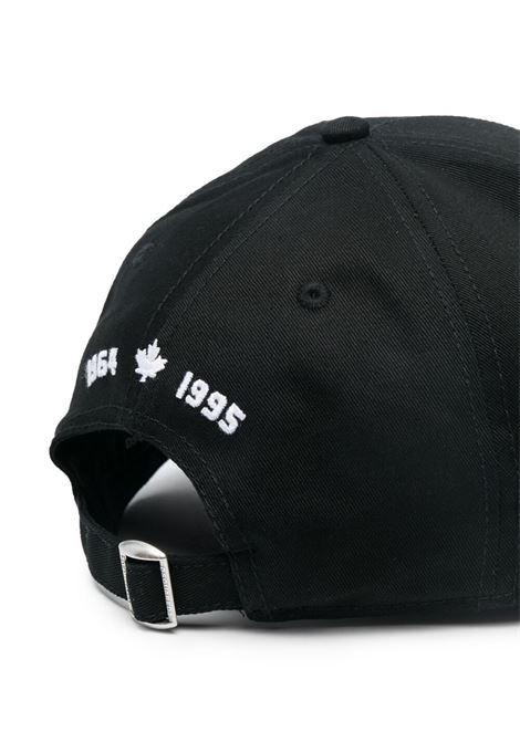 Black cap DSQUARED | HATS | BCM041405C000012124