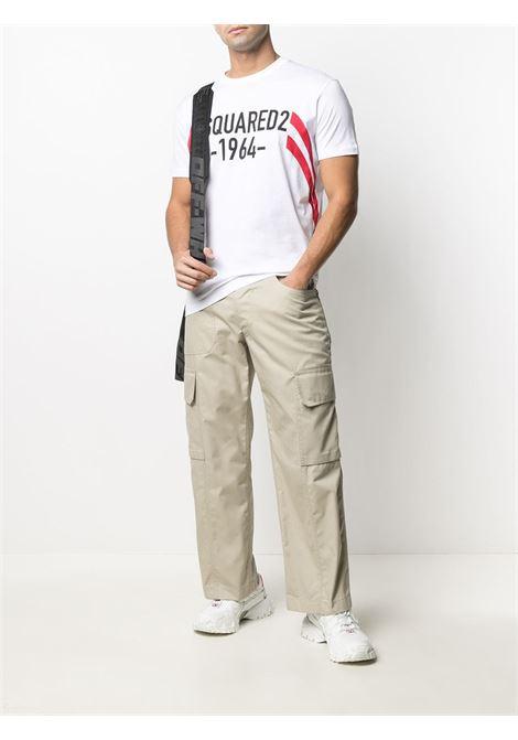 T-shirt bianca DSQUARED   S74GD0805S22427100