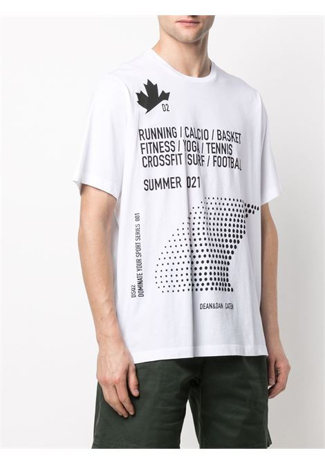 White t-shirt DSQUARED |  | S74GD0816S22427100