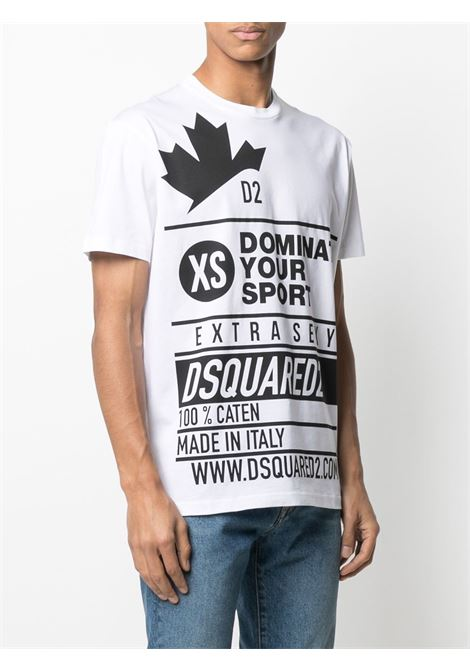 White t-shirt DSQUARED |  | S74GD0824S22427100