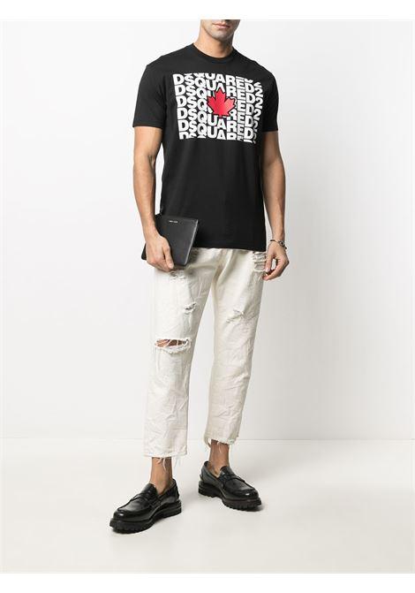 Black t-shirt DSQUARED |  | S74GD0827S22427900
