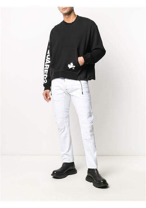 Black sweatshirt DSQUARED |  | S74GU0474S25042900