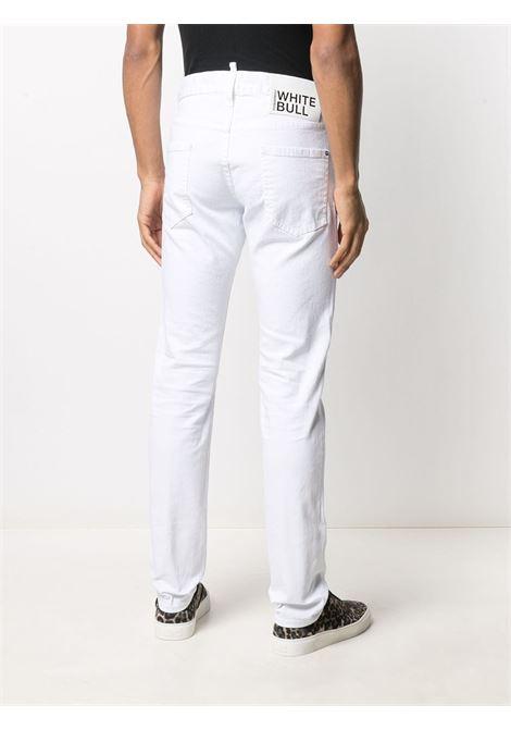 Jeans bianco DSQUARED | JEANS | S74LB0862S39781100