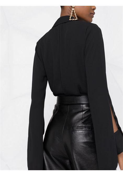 Camicia a body nera ELISABETTA FRANCHI | CB01211E2110