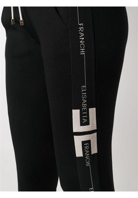 Pantalone nero ELISABETTA FRANCHI | PANTALONI | KP18S11E2685