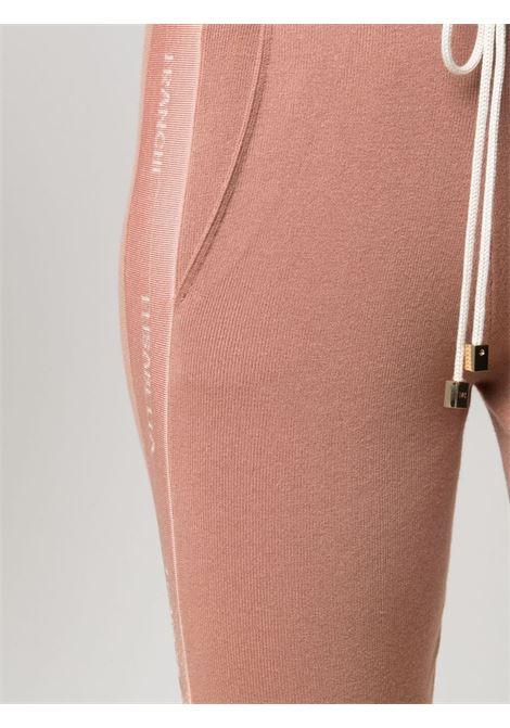 Gold/pink track pants ELISABETTA FRANCHI | TROUSERS | KP18S11E2W77