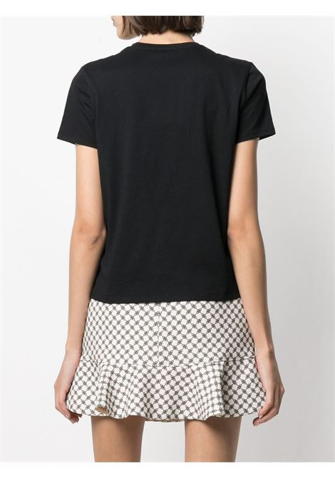 Black t-shirt ELISABETTA FRANCHI |  | MA18411E2110