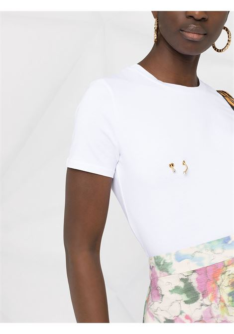 T-shirt bianca ELISABETTA FRANCHI   T-SHIRT   MA18N11E2270