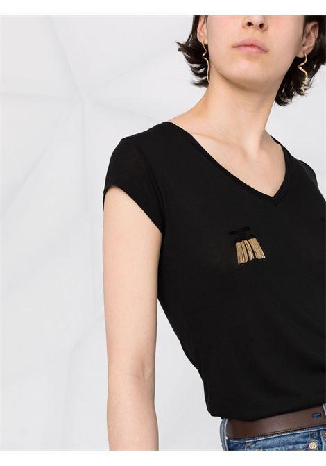 Black t-shirt ELISABETTA FRANCHI |  | MA19711E2110